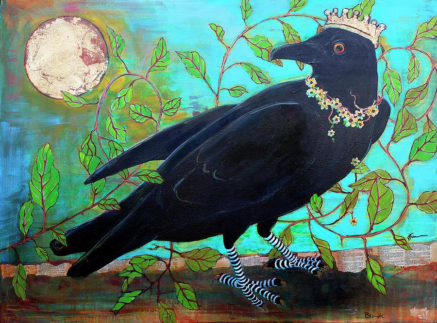 King Crow Painting by Blenda Studio