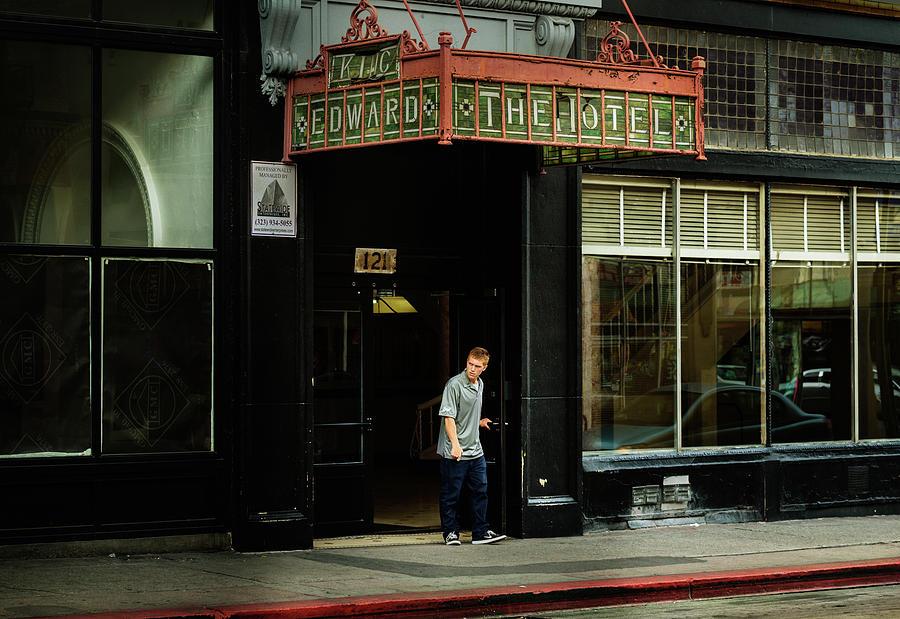 King Edward Hotel, Downtown LA. by Andy Romanoff