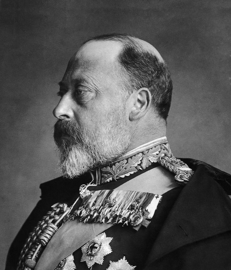 King Edward Vii Photograph by General Photographic Agency