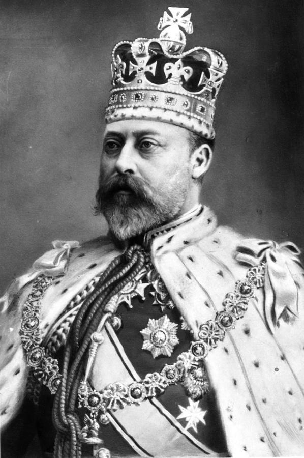 King Edward Vii Photograph by Hulton Archive