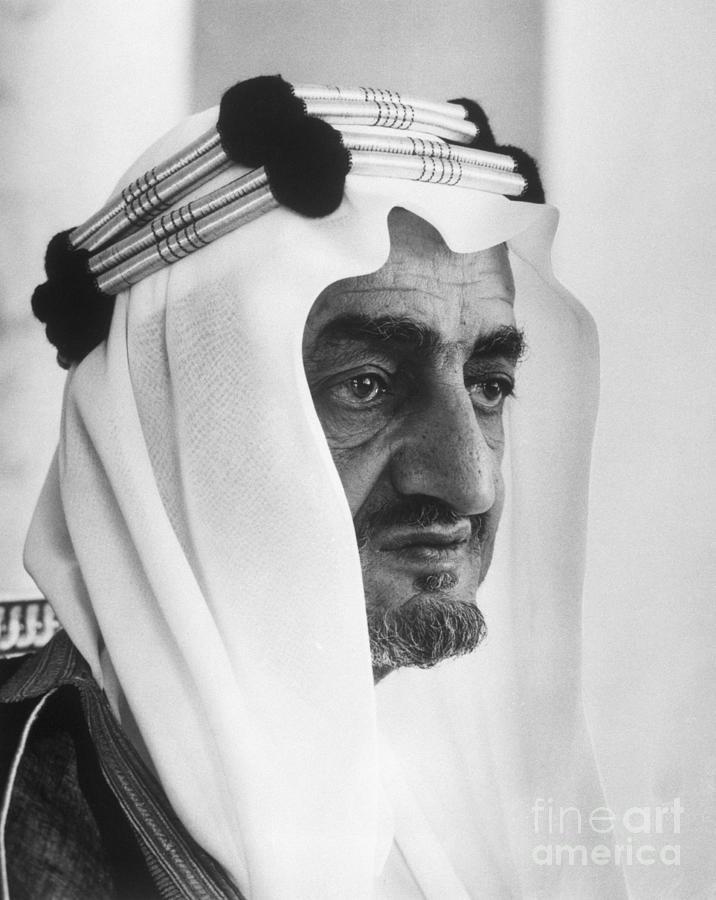 King Faisal Photograph by Bettmann