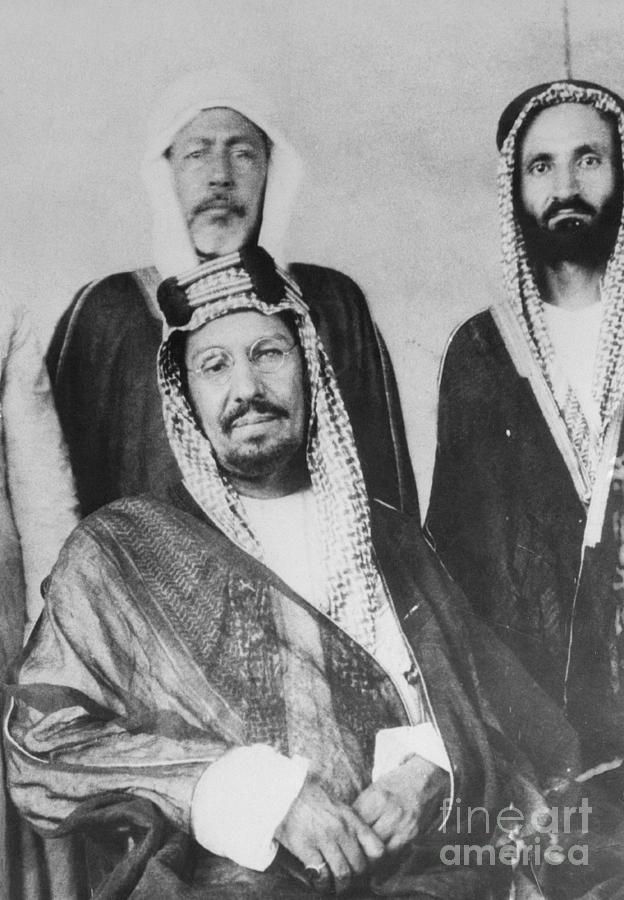 King Ibn Saud Of Saudi Arabia Photograph by Bettmann