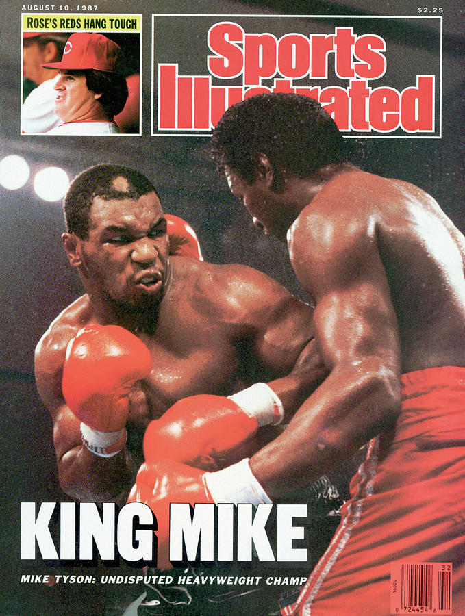 King Mike Mike Tyson Undisputed Heavyweight Champ Sports Illustrated Cover By Sports Illustrated