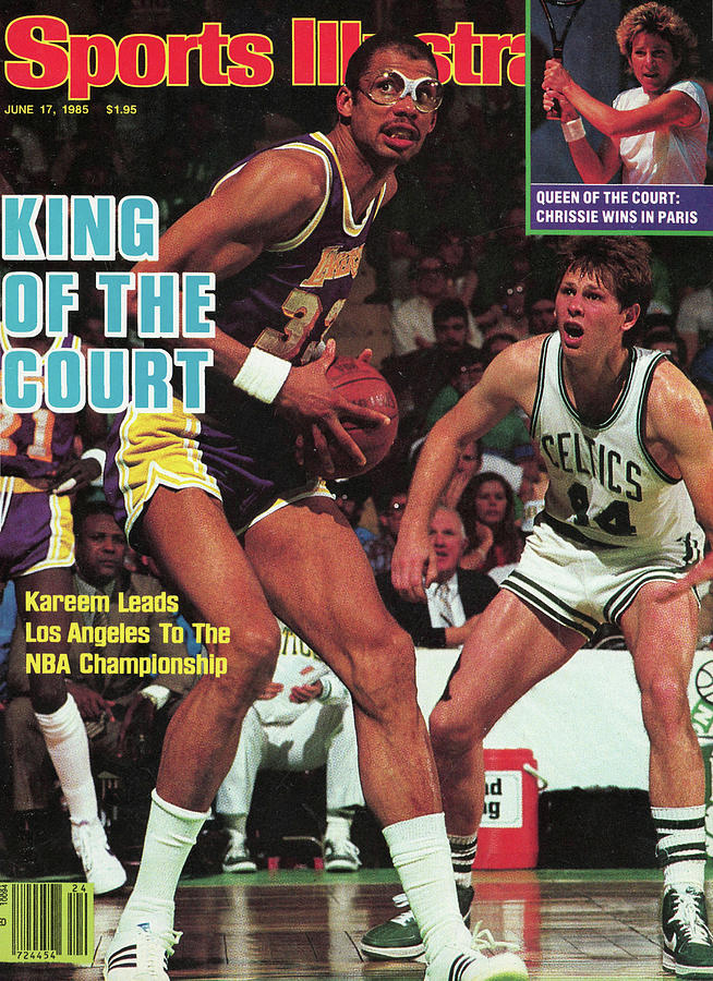 King Of The Court Kareem Leads Los Angeles To The Nba Sports Illustrated Cover Photograph by Sports Illustrated