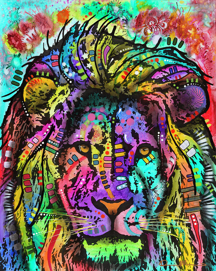 King Of The Jungle Mixed Media - King Of The Jungle by Dean Russo- Exclusive