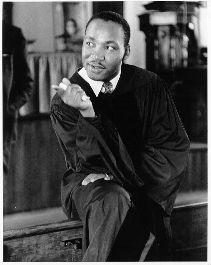 King Sermon Photograph by Michael Ochs Archives