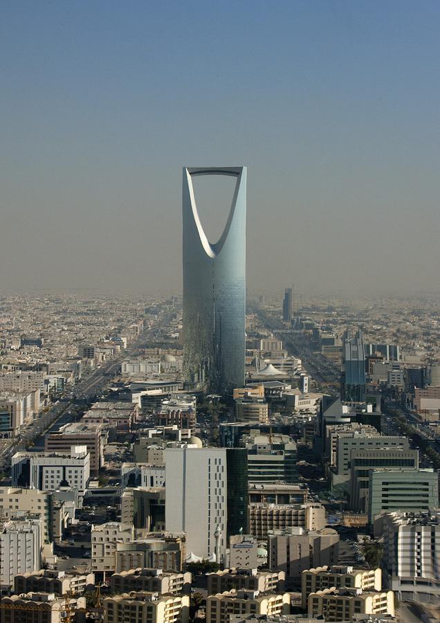 Kingdom Center In Riyadh, Saudi Arabia Photograph by Eric Lafforgue