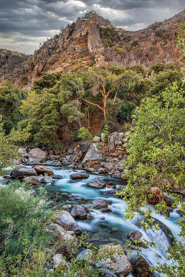 Kings Canyon River by Peter Tellone