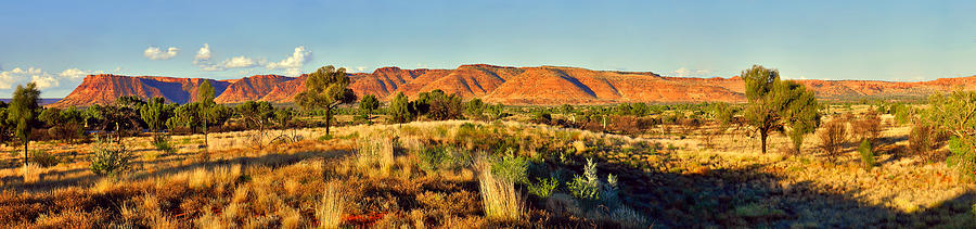 Kings Canyon Sunset Panorama by Lexa Harpell