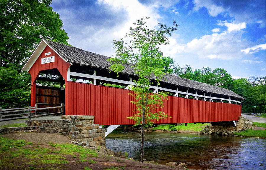 Kings Covered Bridge by Carolyn Derstine