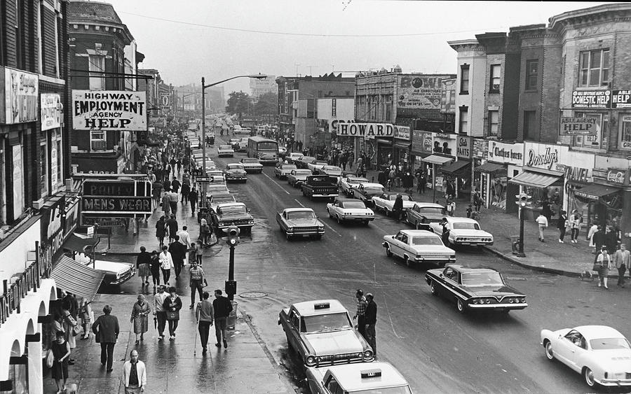 Kings Highway & East 15th St., Early Photograph by Fred W. Mcdarrah