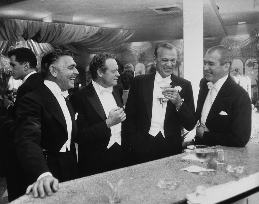Kings Of Hollywood Photograph by Slim Aarons