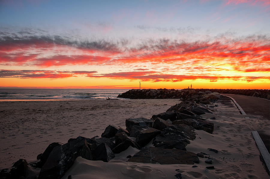 Kingscliff Beach Sunrise by Catherine Reading