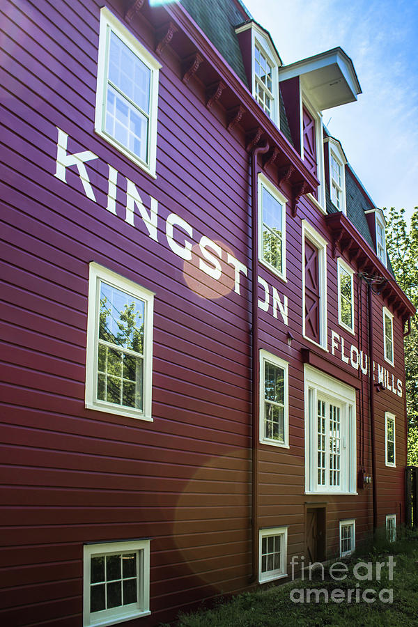 Kingston Flour Mill House by Colleen Kammerer