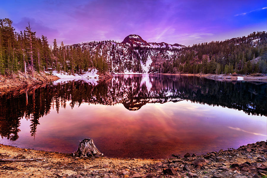 Kinney Reservoir Sunset by Don Hoekwater Photography