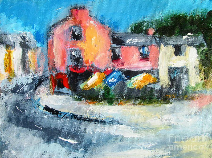 kinvara village galway ireland by Mary Cahalan Lee- aka PIXI