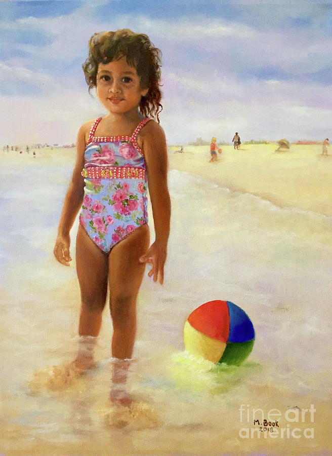 A Day at the Beach  by Marlene Book