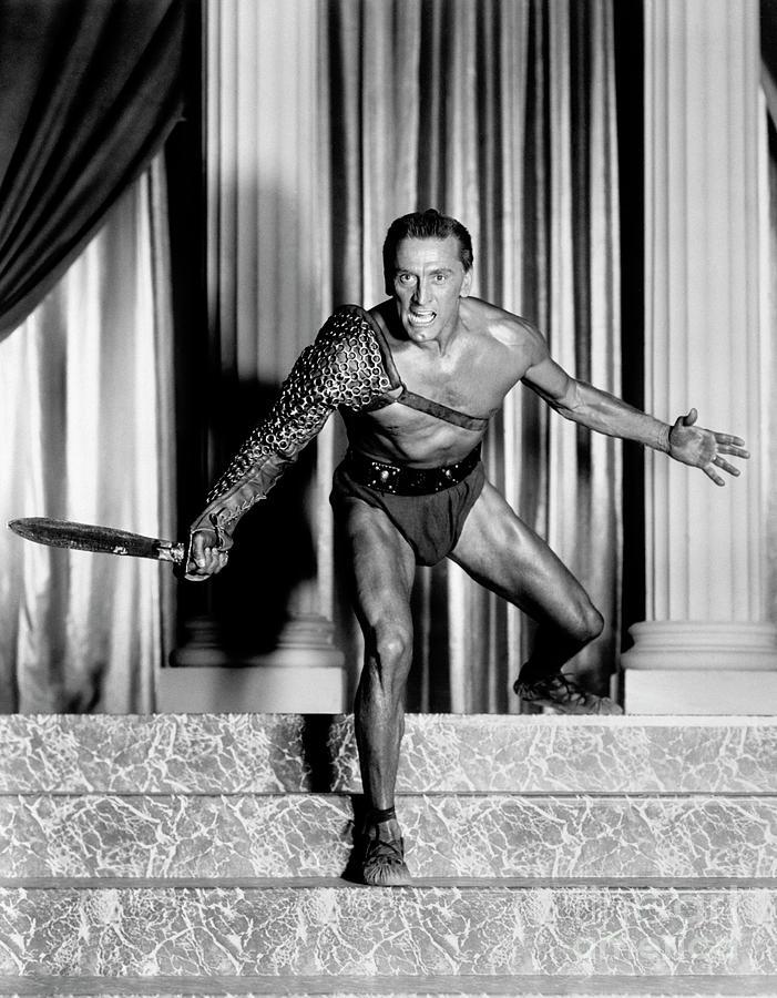 Kirk Douglas As Spartacus Photograph by Bettmann