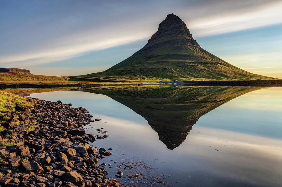 Kirkjufell Reflection West Iceland by Pierre Leclerc Photography