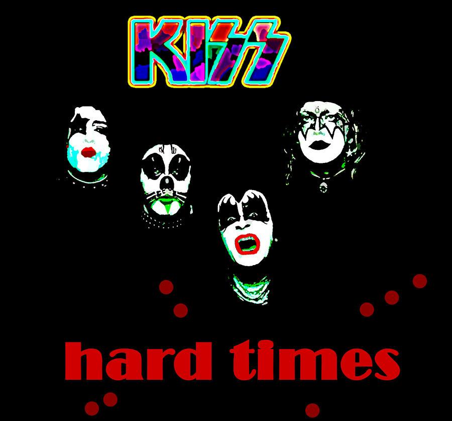 Kiss Hard Times 1979  by Enki Art