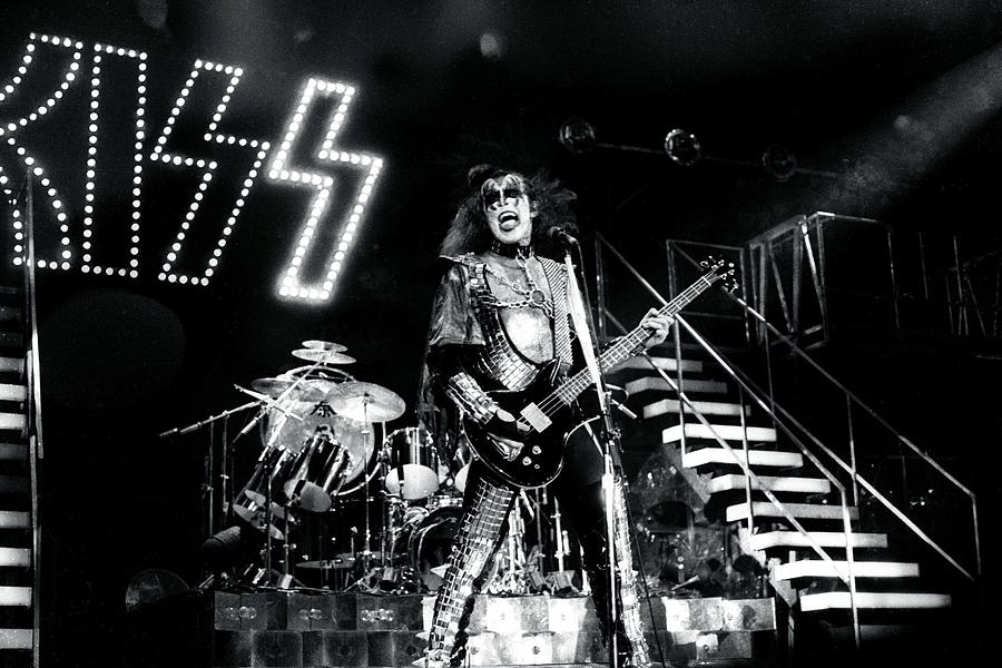 Kiss Live Photograph by Larry Hulst