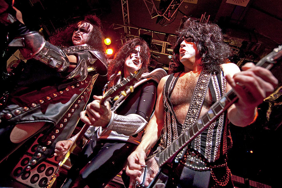 Event Photograph - Kiss Perform At The O2 Islington by Neil Lupin