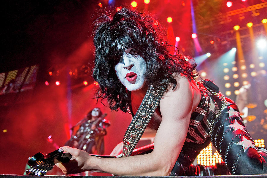 Kiss Perform At Wembley Arena In London Photograph by Neil Lupin