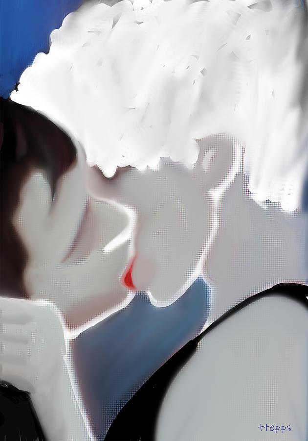 Kissing 3 by Teresa Epps