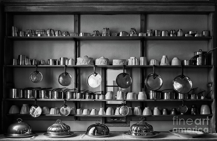 Kitchen Accessories, Saffron Walden Photograph by Helen Hooker