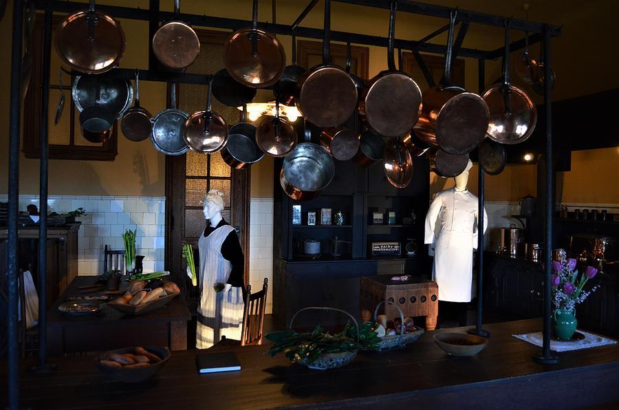 Kitchen at the Biltmore Estate by Warren Thompson