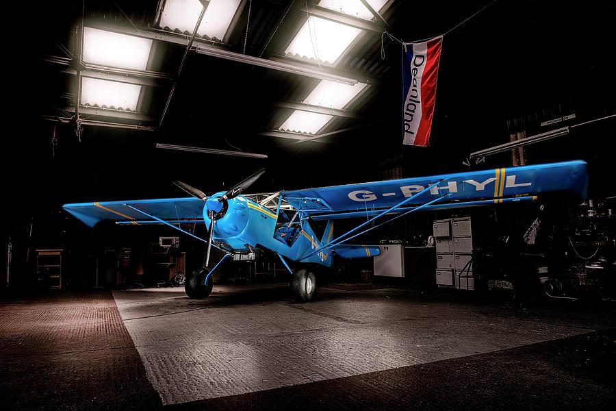 Aircraft Photograph - Kitfox by Tom Jordan