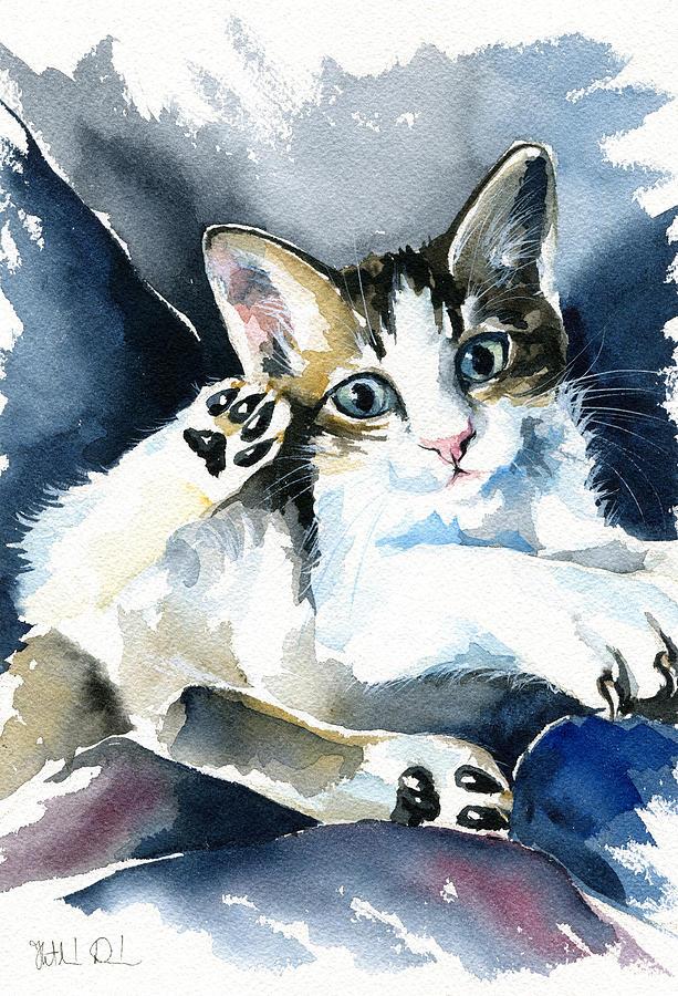 Kitten by Dora Hathazi Mendes