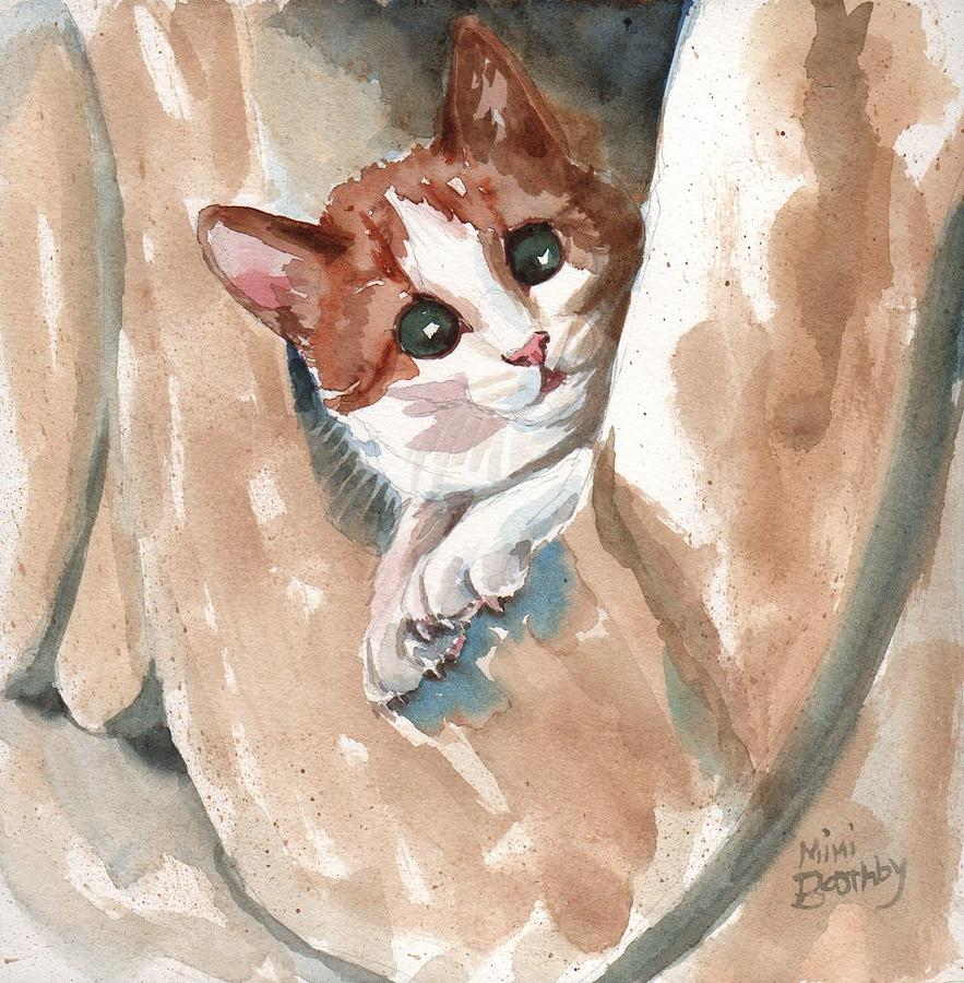 kitten by Mimi Boothby