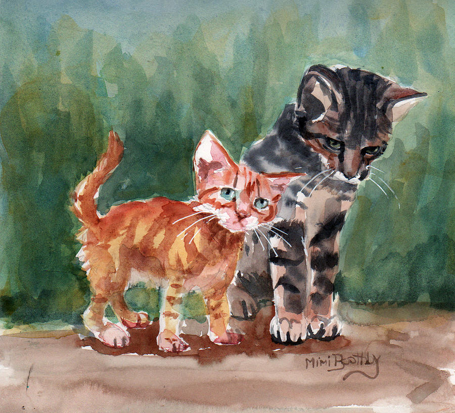 Kittens by Mimi Boothby