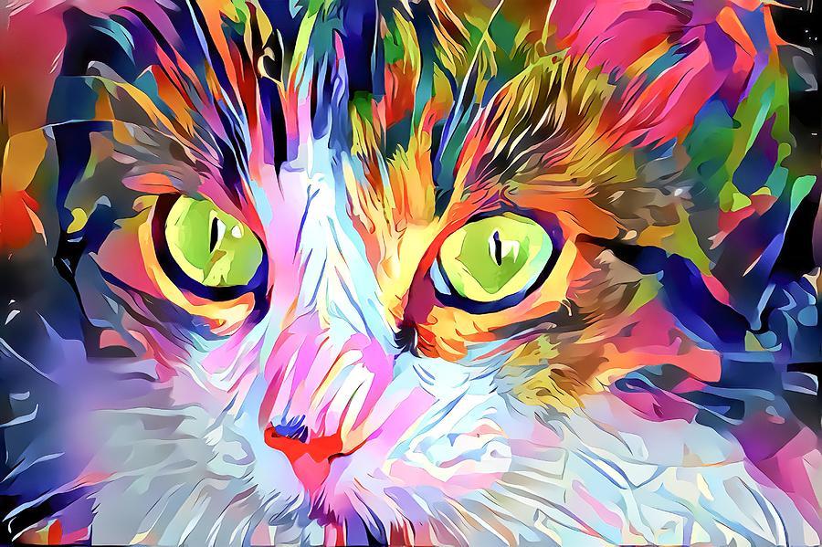 Kitty Love Digital Art