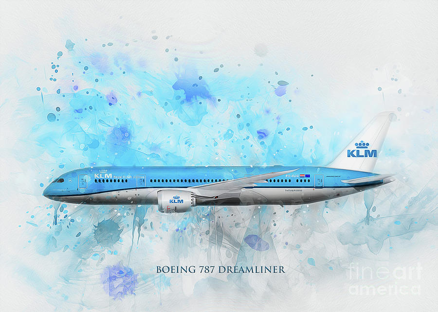 Klm Boeing 787 Dreamliner by Ian Mitchell