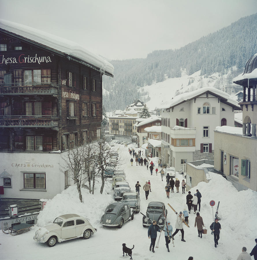 Klosters Photograph by Slim Aarons