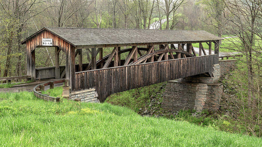 Knapp's Covered Bridge by Rod Best