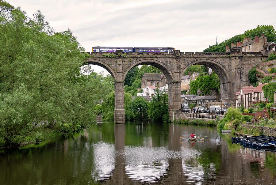 Knaresborough Viaduct by Gouzel