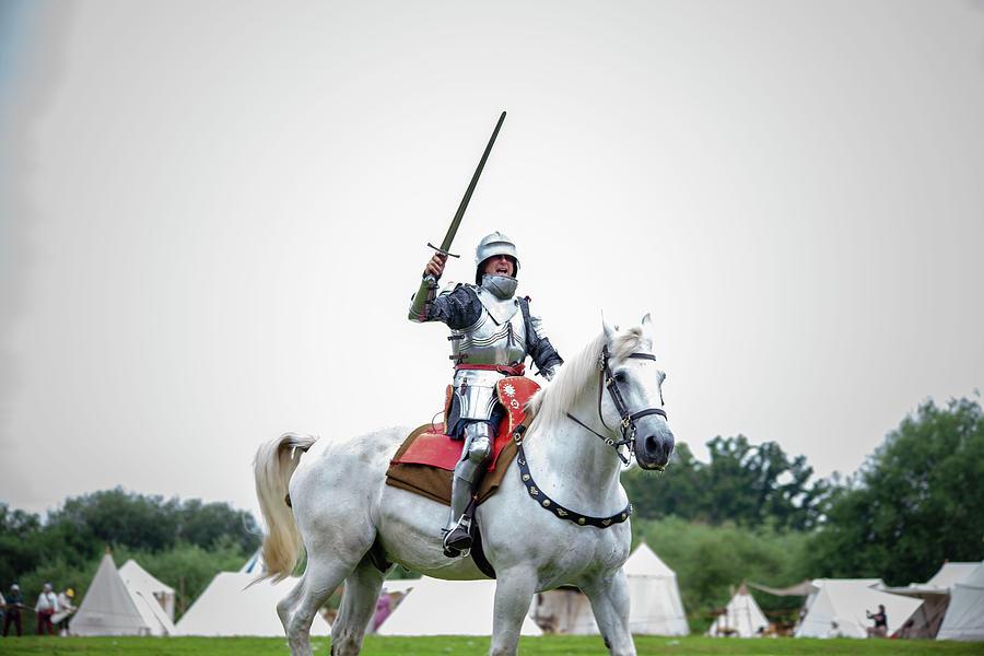 Knight on horseback by Cheltenham Media