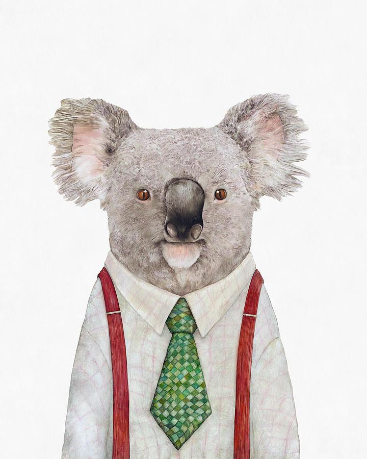 Koala Painting - Koala by Animal Crew