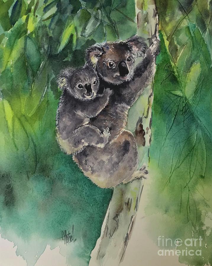Koala Forest by Chris Hobel