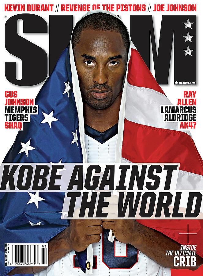 Kobe Against the World SLAM Cover Photograph by Atiba Jefferson