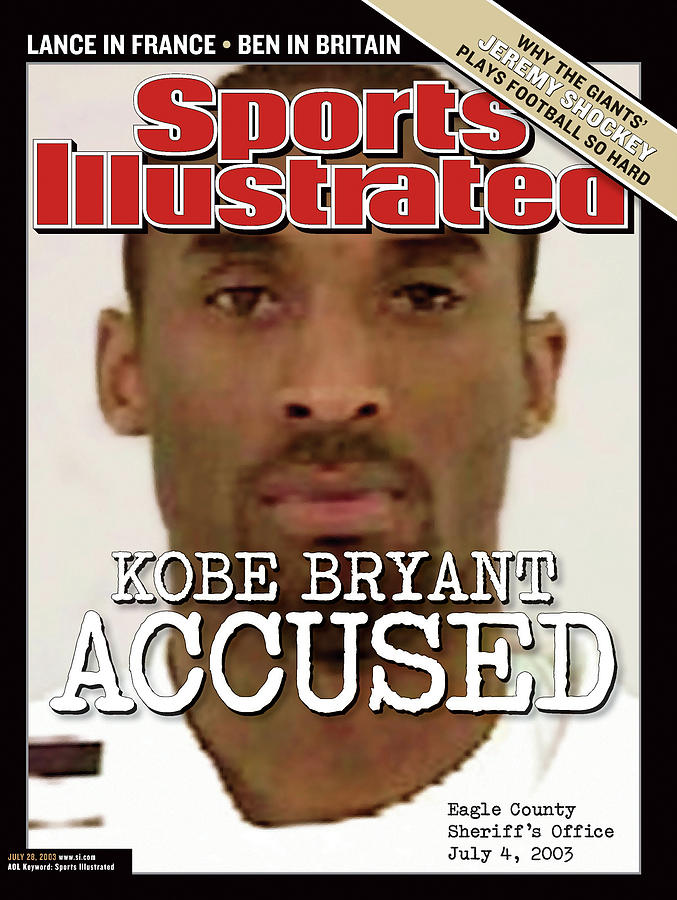 Kobe Bryant Accused Sports Illustrated Cover Photograph by Sports Illustrated