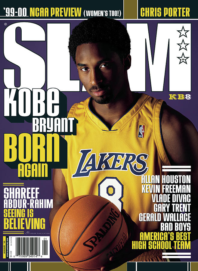 Kobe Bryant: Born Again SLAM Cover Photograph by Getty Images