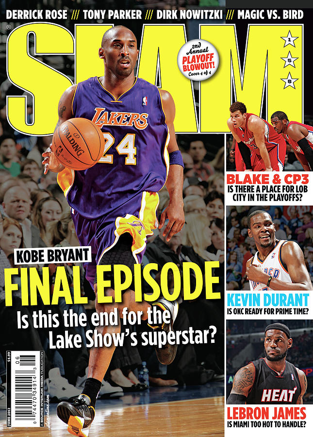 Kobe Bryant: Final Episode SLAM Cover Photograph by Getty Images