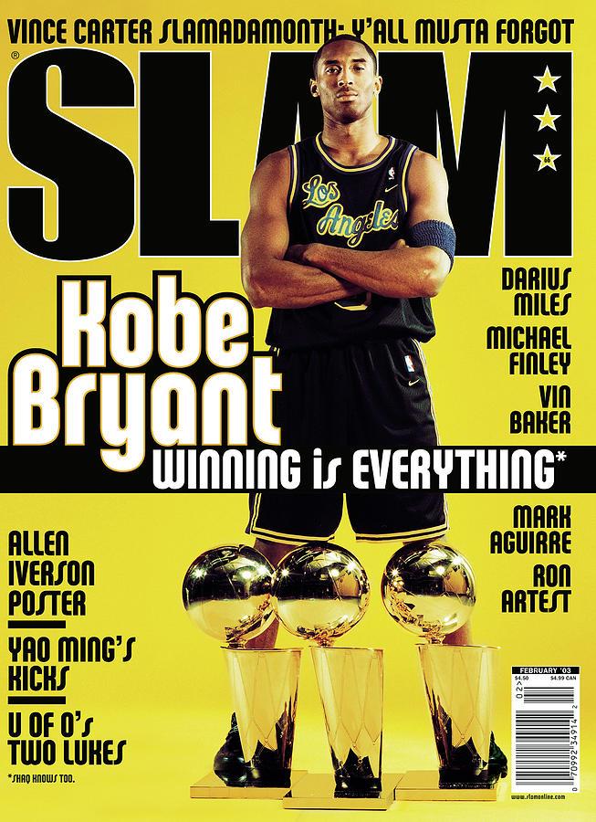 Kobe Bryant: Winning Is Everything SLAM Cover Photograph by Atiba Jefferson