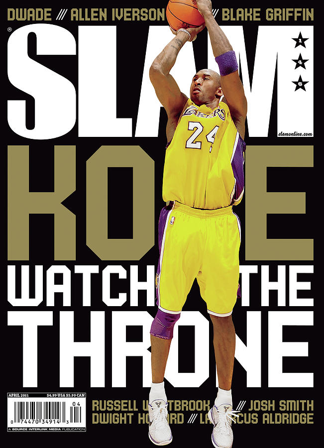 Kobe: Watch the Throne SLAM Cover Photograph by Getty Images