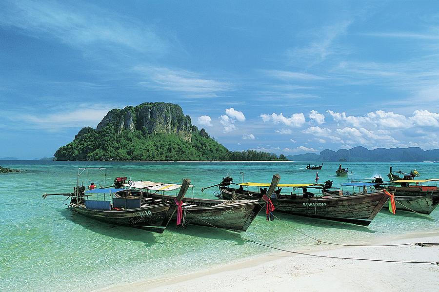 Koh Thab Island, Krabi, Andaman Sea Photograph by Buena Vista Images