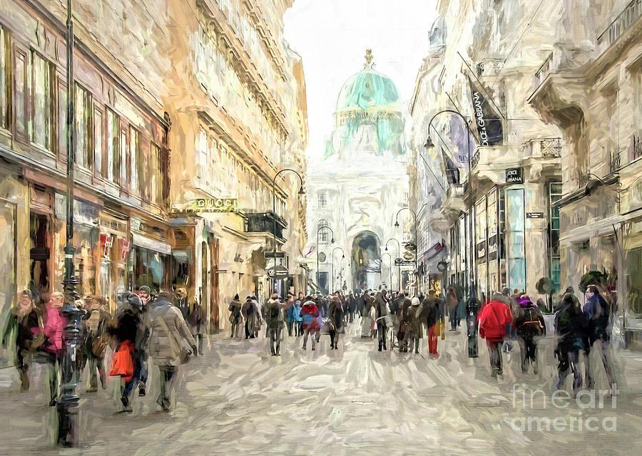 Kohlmarkt in Vienna by Brian Tarr